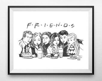 Friends - Print