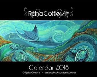 CALENDAR 2018 -Reina Cottier Art