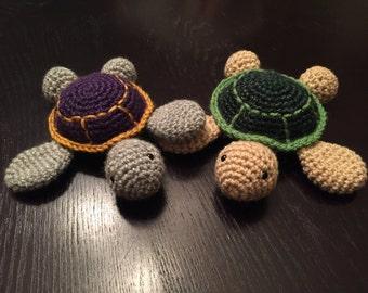 Baby Sea Turtle Crochet Pattern
