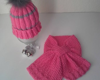 Toddler Winter Hat and Scarf Set