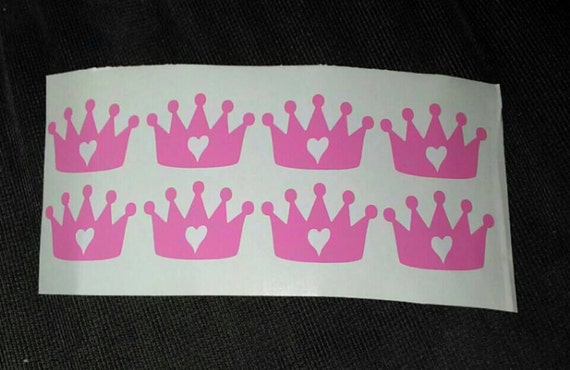 Tanning stickers crown decals princess decal queen tanning bed stickers tan shape tanning bed decals from untamedcustomgifts on etsy studio
