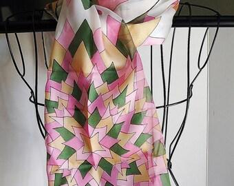 Vintage Vera Scarf Silk Blend