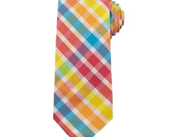 Carnival Plaid Necktie