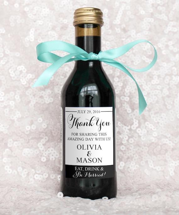 Decorate Wine Bottle Wedding Favor - High School Mediator