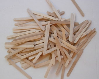 250 Wooden popsicle Craft Sticks