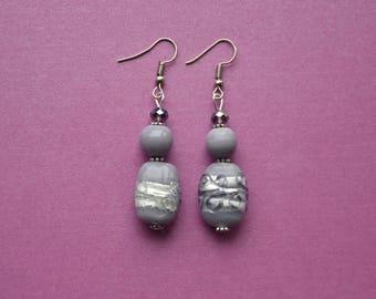 Lavender earrings, Lilac earrings, light purple earrings, lavender jewellery, lavender jewelry, light purple drop earrings, gift for friend