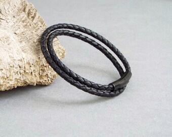 Women's Bracelet, Leather Bracelet, Girlfriend Gift, Women's Jewelry, Gift for Her, Wrap Bracelet