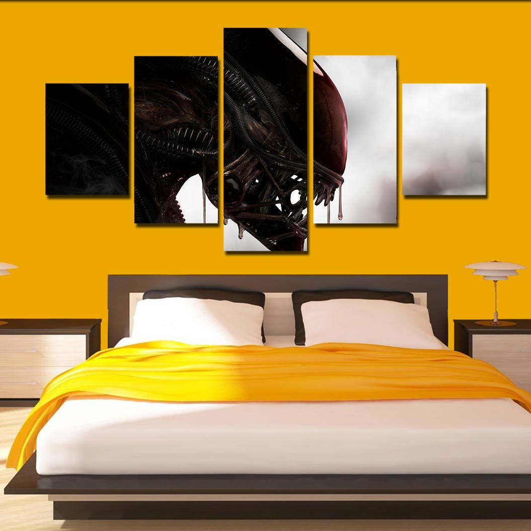 Alien canvas Alien poster print home art wall decor wall art