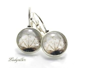 Earrings - Dandelion