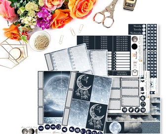 The Moon made me do it - BIG Happy Planner
