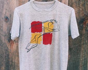 RARE Neil Young Transworld Tour 1982-83 T-Shirt