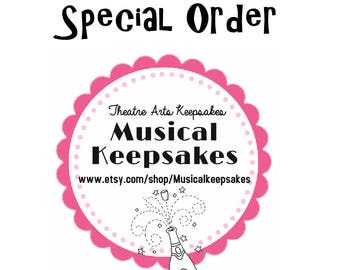 Seussical Special Order - Order of 45 Pinbacks