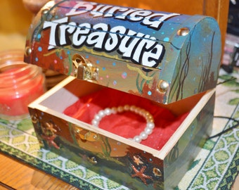 Buried Treasure Jewelry Box