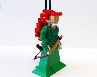 Custom Miniland Merida Ornament