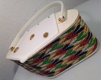FREE  SHIPPING    Lucite  Box  Handbag