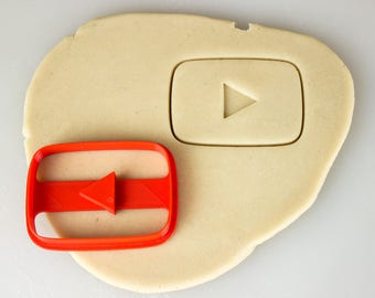 YouTube Play Button Creators Cookie Cutter