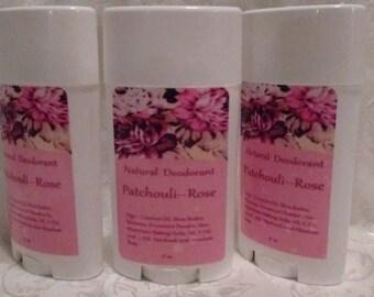 Patchouli/Rose Deodorant: