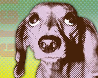 "Custom Pet Portrait-Personalized- 11 x 14"""