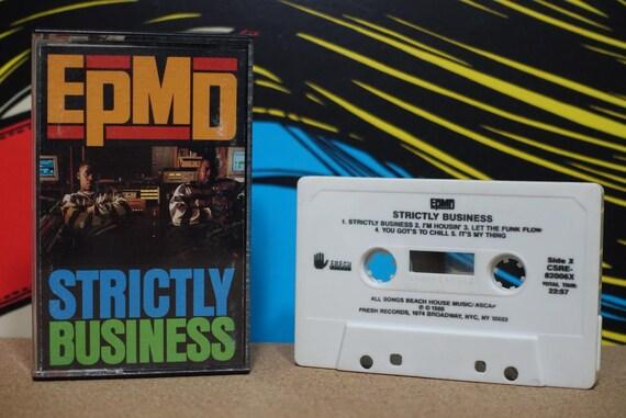 Strictly Business by EPMD Vintage Cassette Tape