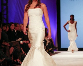 Lily Corset Mermaid Wedding Gown