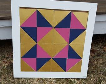 Half Square Triangle Practice Blocks