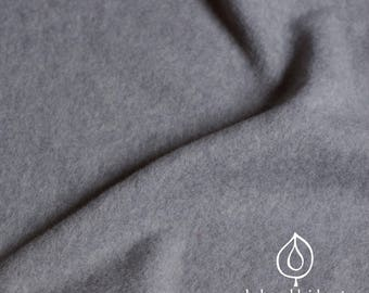 Organic Fleece Heather Grey