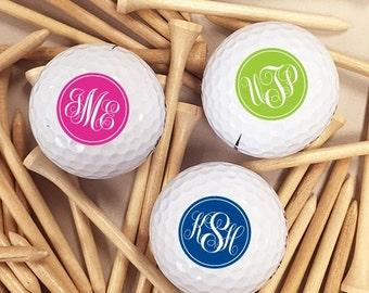 18 pcs Elegant Script Personalized Golf Balls (MIC38)