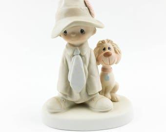 Vintage Precious Moments To A Special Dad Figurine E-5212