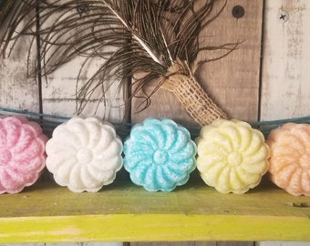 Solid Shampoo Conditioner Shower Shave Bars