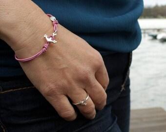 maritime anchor bracelet silver for girls and women, gift, christmas