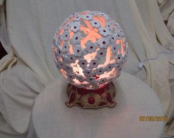 Flower ball lamp