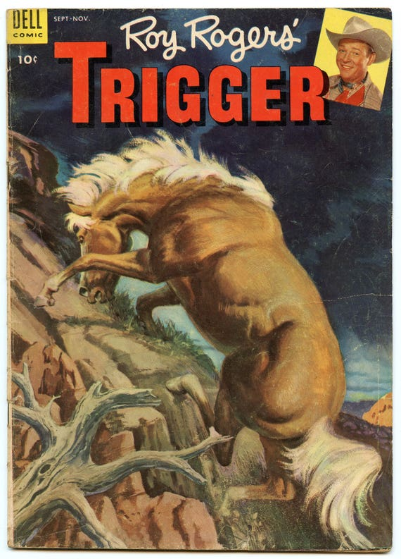 Roy Rogers' Trigger 10 Nov 1953 VG (4.0)