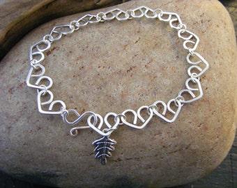 Little hearts bracelet.