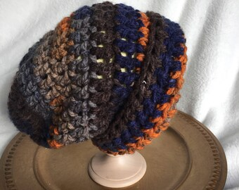 3-5 years slouch beanie crochet hat