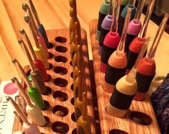 Oblong Holes Customizing Option (for Crochet Light, Clover Soft Touch, Knitter's Pride Crochet Hooks and more!)