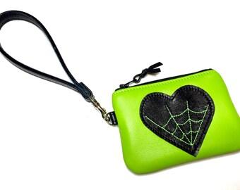 Spiderweb Bag, Spiderweb Handbag, Spiderweb Wristlet, Halloween Bag