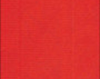 """55"""" Wide Solid Red Oilcloth Fabric"""