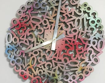 Numbers Wall Clock - Holiday gift guide women