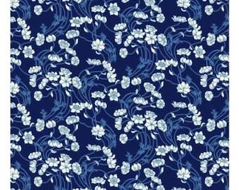 Moving Sale Liberty Art Fabrics  Liberty Stile Lowke Blue