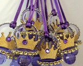 Purple prince baby shower pacifier/purple prince baby shower favors/purple prince baby shower necklace game/purple prince baby shower(10 pcs