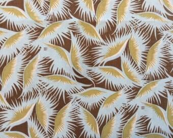Fabric: FEATHERS Belle by Amy for Rowan Fabrics  1 Yard