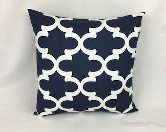 Throw Pillows - Navy Throw Pillows - Couch Throw Pillows - Pillows and Throws - Home Decor Pillows - Designer Pillows -