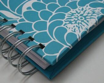Thankful Journal - Pocket Size - Daily Gratitude - Mini Journal - Gratitude Journal - Grateful Journal - Year Journal - Bold Turquoise