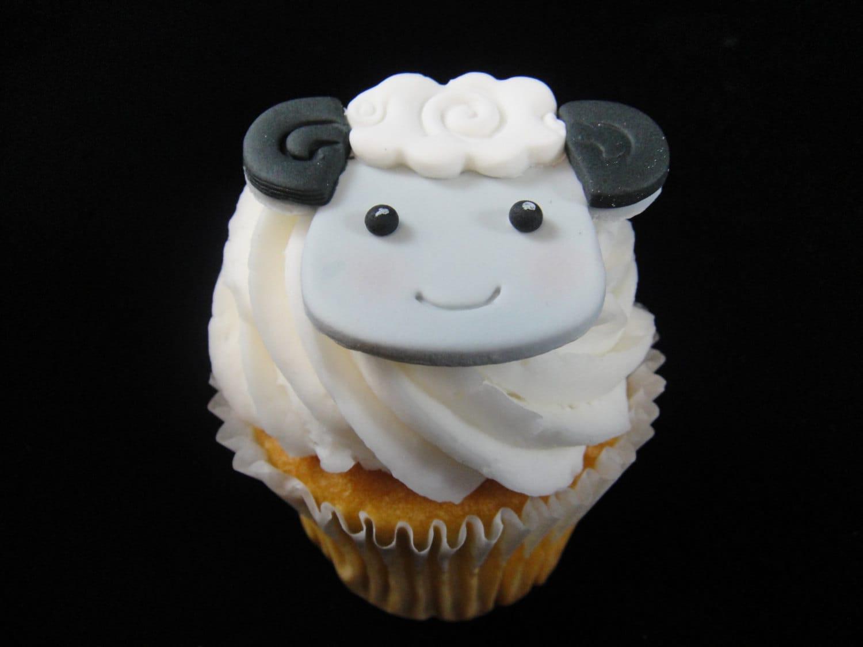 Edible Sheep Cake Decorations