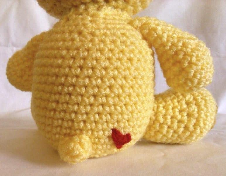 Care Bear Funshine Bear Crochet Pattern Pdf From Mostlystitchin