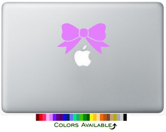 Pretty Bow Laptop Decal