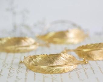 Feather bracelet, gold feather bracelet, feather cuff bracelet, bangle feather bracelet, bangle bracelet, Silver feather cuff bracelet