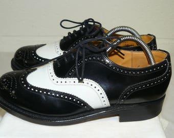 Vintage black/white spectator shoes