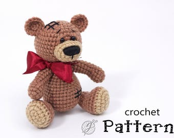 Amigurumi Free Patterns Bear : Amigurumi crochet patterns teddy bears: best crochet mini bears