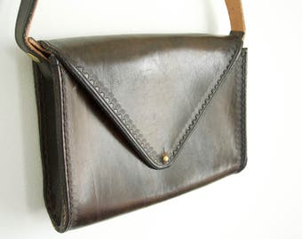 Stamped Leather Purse